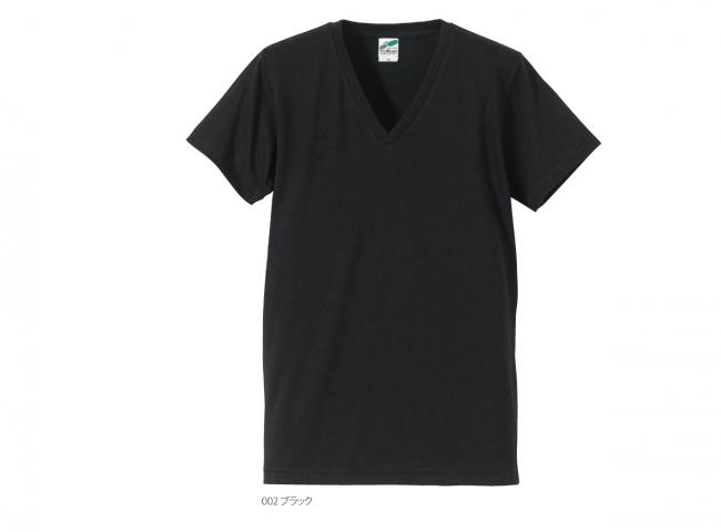 トライブレンド VネックTシャツ (4.4oz)