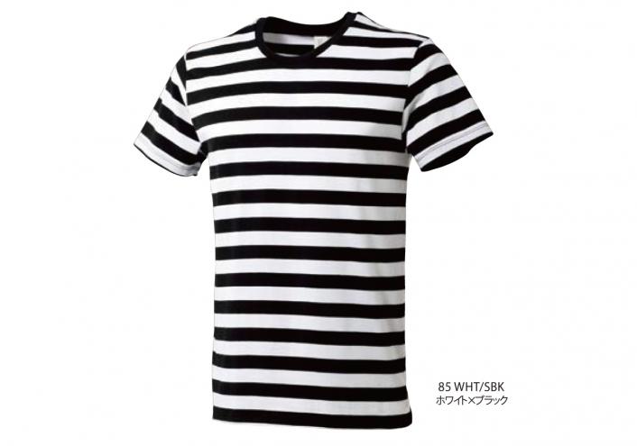 ボーダーTシャツ (4.3oz)
