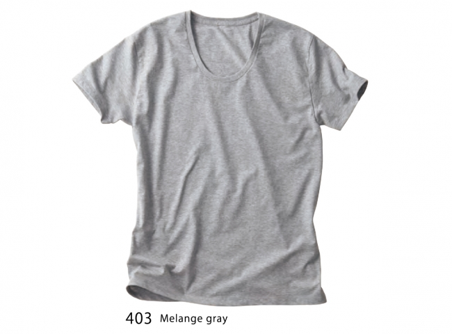 Basic U Neck T-shirts (4.3oz)